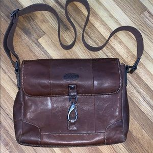 Fossil briefcase; leather excellent condition